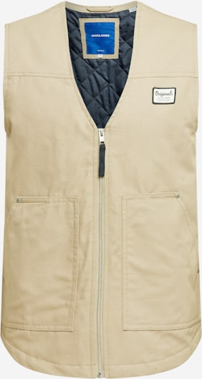 JACK & JONES Bodywarmer in de kleur Beige, Productweergave