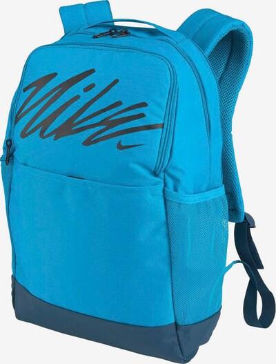 NIKE Sportrucksack  'Brasilia Graphic' in blau / dunkelblau / schwarz, Produktansicht