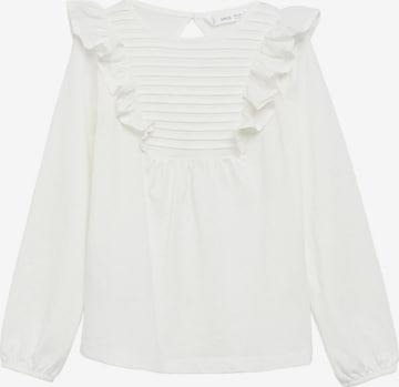 Tricou 'Danae' de la MANGO KIDS pe alb