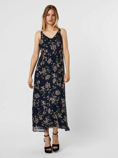 VERO MODA Summer Dress in Navy / Olive / Pink / Merlot / White, View model