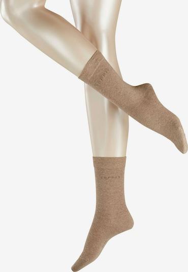 ESPRIT Socken in sand, Produktansicht