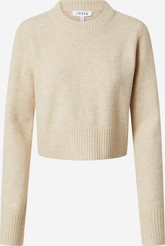 Pullover 'Lilliana' di EDITED in beige