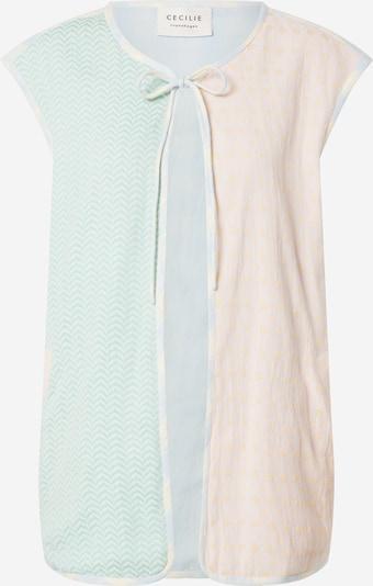 Cecilie Copenhagen Vesta 'Maja' - tyrkysová / světlemodrá / broskvová / jasně oranžová / bílá, Produkt