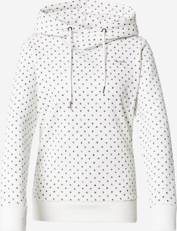 Pepe Jeans Sweatshirt 'POPPY' in White