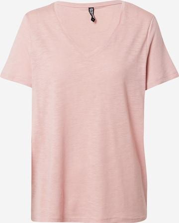 PIECES T-shirt 'PENNY' i rosa