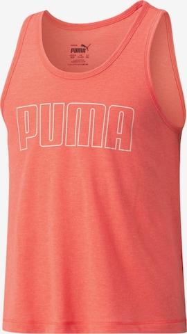 PUMA Sporttopp 'Runtrain' i orange