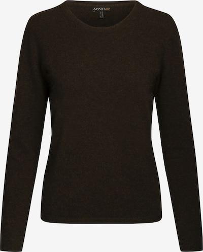 APART Cashmere Rundhalspullover aus hochwertigem Cashmere in dunkelbraun, Produktansicht