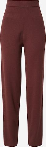 Pantaloni 'Merle' de la Guido Maria Kretschmer Collection pe maro