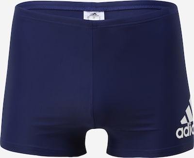Pantaloni de baie ADIDAS PERFORMANCE pe albastru închis / alb, Vizualizare produs