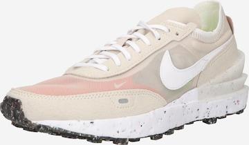 Nike Sportswear Sneakers laag 'Nike Waffle One Crater' in Beige