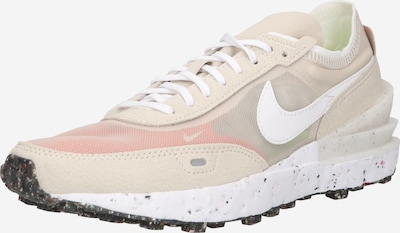Nike Sportswear Låg sneaker 'Nike Waffle One Crater' i kräm / rosa, Produktvy