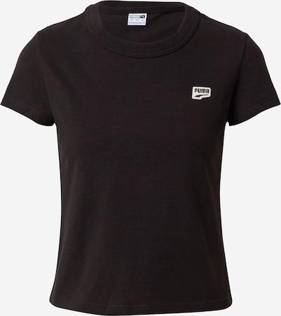 PUMA T-shirt fonctionnel 'PUMAxABOUT YOU' en noir, Vue avec produit