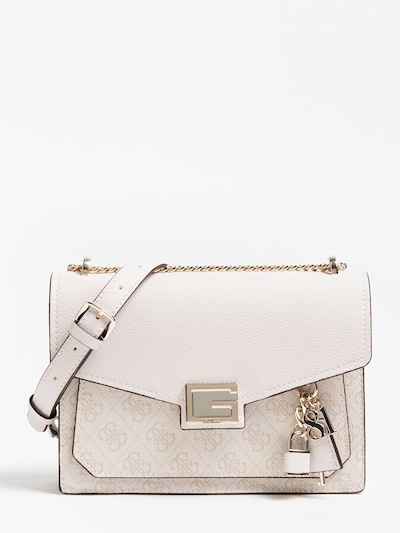 GUESS Crossbody Bag 'Valy' in Beige / Light beige, Item view