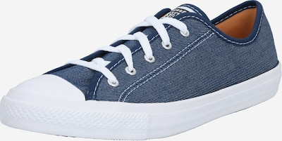 CONVERSE Baskets basses en bleu marine / blanc, Vue avec produit