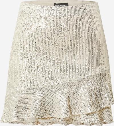 Tally Weijl Spódnica w kolorze srebrny / białym, Podgląd produktu