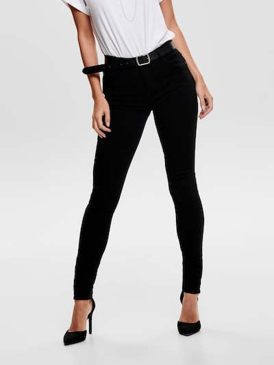 ONLY Jeans 'onlRAIN CRY6060' in black denim, Modelansicht