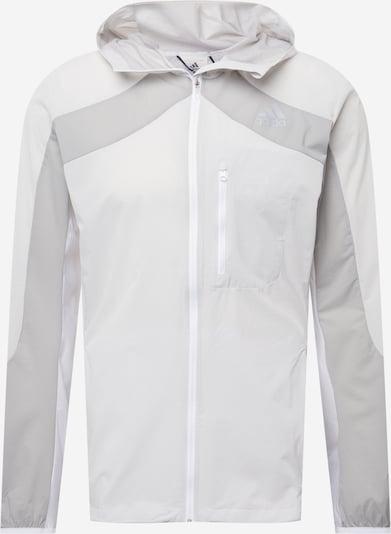ADIDAS PERFORMANCE Športová bunda 'MARATHON' - svetlosivá / biela, Produkt