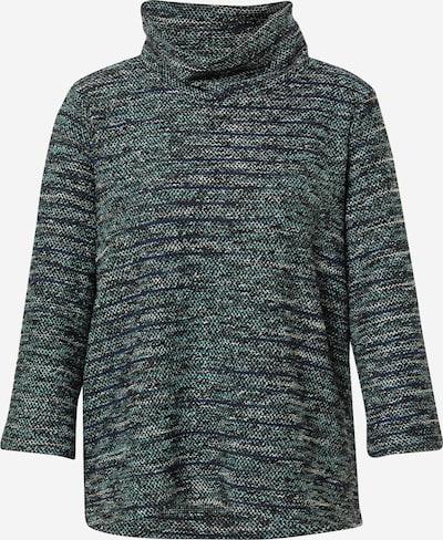 TOM TAILOR Pullover in marine / grau / schwarz / weiß, Produktansicht