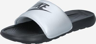 Nike Sportswear Чехли 'Victori One' в черно / сребърно, Преглед на продукта