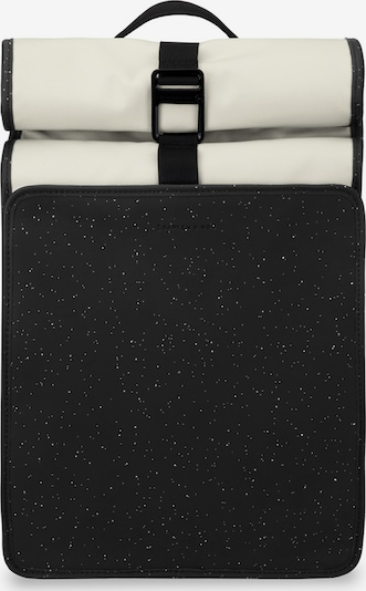 Kapten & Son Plecak 'Lund' w kolorze czarny / białym, Podgląd produktu