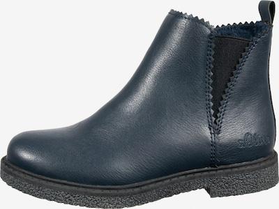 s.Oliver Chelsea Boots in nachtblau, Produktansicht