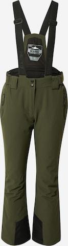 KILLTEC Spodnie outdoor w kolorze zielony