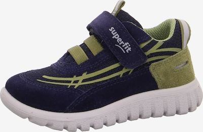 SUPERFIT Lauflernschuh in blau / grün, Produktansicht