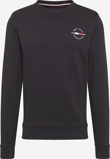 TOMMY HILFIGER Sweat-shirt en bleu nuit / rouge / noir / blanc, Vue avec produit