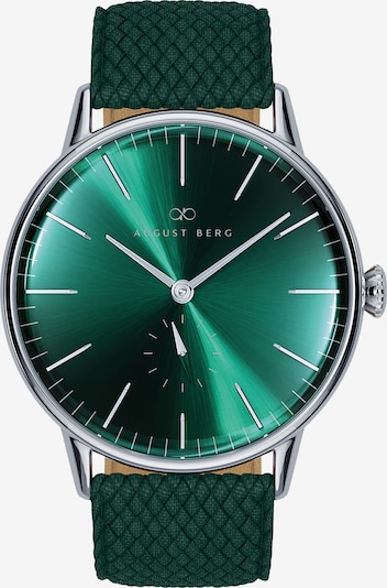 August Berg Uhr Serenity Greenhill Eye Dark Green Perlon 40mm in grün, Produktansicht