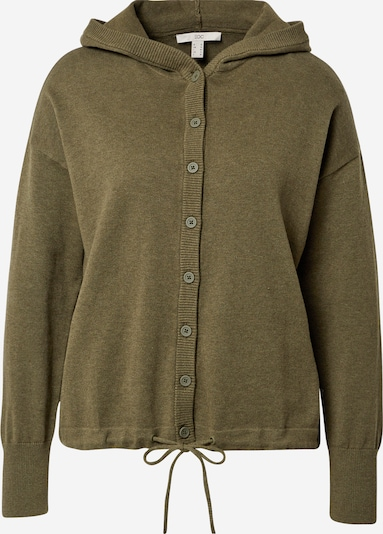 EDC BY ESPRIT Strickjacke in khaki, Produktansicht