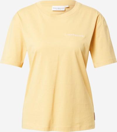 Hafendieb Shirt in de kleur Lichtgeel / Wit, Productweergave