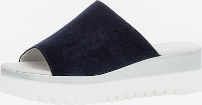 GABOR Pantolette in dunkelblau / silbergrau, Produktansicht