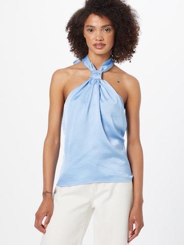 Gina Tricot Bluse 'Jill' i blå