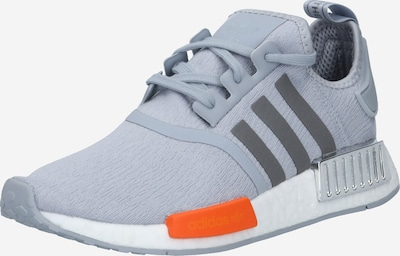 ADIDAS ORIGINALS Sneaker  'NMD R1' in dunkelgrau / graumeliert / dunkelorange, Produktansicht