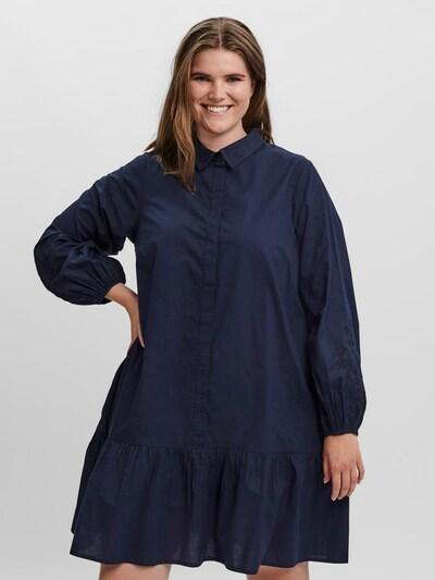 Vero Moda Curve Blusenkleid in navy, Modelansicht