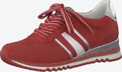 MARCO TOZZI Sneakers low in red / silver, Item view