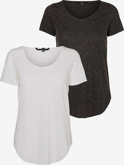 VERO MODA T-Shirt 'Lua' in schwarz / weiß, Produktansicht