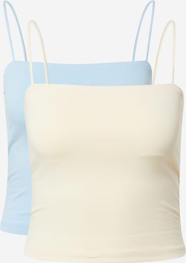 Gina Tricot Top in Beige / Blue, Item view