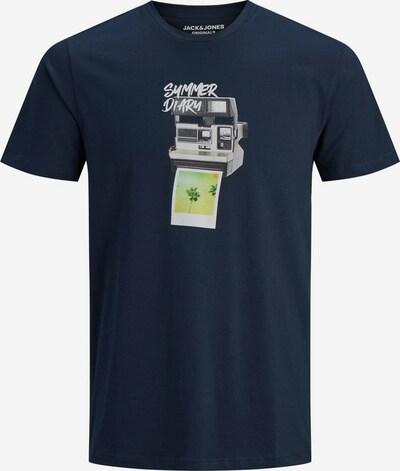 JACK & JONES T-Shirt en bleu / mélange de couleurs, Vue avec produit