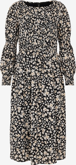 Y.A.S Kleid en beige / schwarz / weiß, Vue avec produit