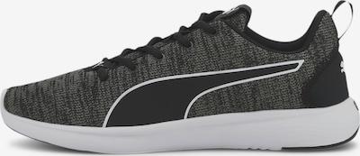 PUMA Laufschuh 'SOFTRIDE Vital Clean' in schwarzmeliert / weiß, Produktansicht