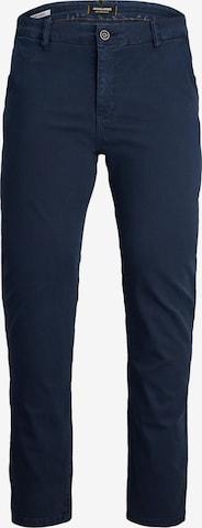 JACK & JONES Chino-püksid 'Marco Fred', värv sinine