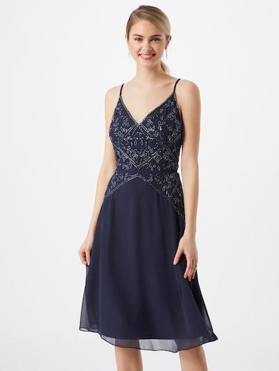 Hailey Logan Kleid in nachtblau, Modelansicht