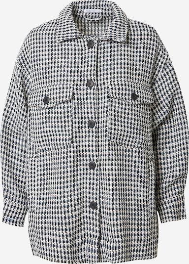 Hailys Prijelazna jakna 'Chloe' u sivkasto plava / crna / bijela, Pregled proizvoda