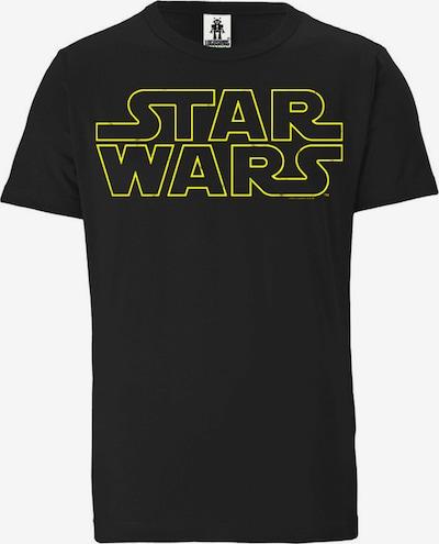 LOGOSHIRT T-Shirt 'Star Wars - Logo' in schwarz, Produktansicht