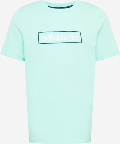 Tricou ADIDAS ORIGINALS pe albastru noapte / verde mentă / alb, Vizualizare produs