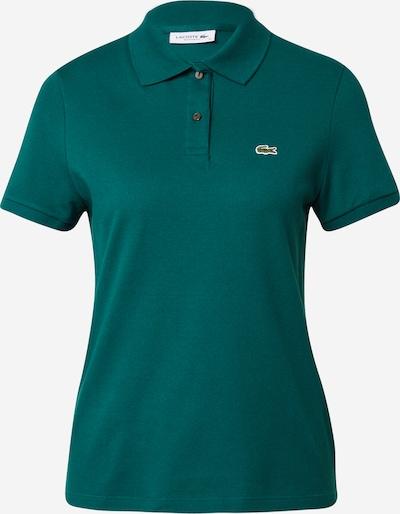 Marškinėliai iš LACOSTE, spalva – benzino spalva, Prekių apžvalga