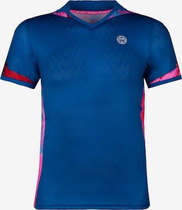 BIDI BADU Poloshirt 'Tano' in Blau