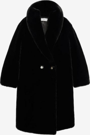 MANGO Tussenmantel 'Chilly' in de kleur Zwart, Productweergave