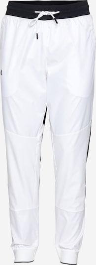 UNDER ARMOUR Pantalón deportivo en negro / blanco, Vista del producto
